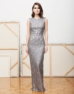 d3aa8102f73 Maria Luisa silver sequin gown @mestizany Silver Sequin, Silver Dress,  Sequin Gown,