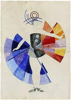 Costume Design - Aleksandra Ekster (1882-1949)