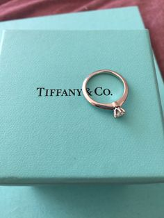 Anillo compromiso Tiffany and Co.