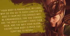 """Loki's Dirty Whispers - Submission: """"Your body is marvelous, my love, why do you go to such lengths to hide it from me?"""""""