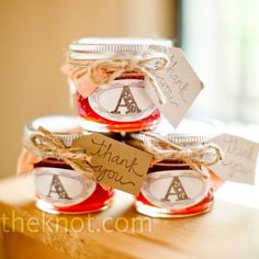 find this pin and more on wedding strawberry jam favors
