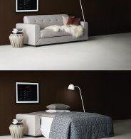 Canapé lit Lazy – Softline - Marie Claire Maison