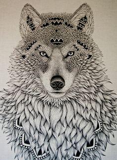 lobo navajo, Sera mi primer Tattoo.