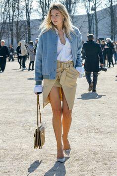 Camille legging it in Paris. #CamilleOverTheRainbow