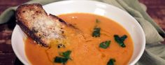This delicious Roasted Tomato Soup is perfect for a chilly day!