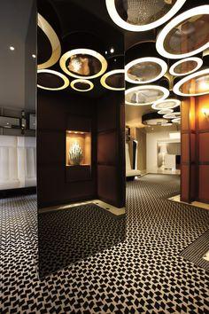 Unique hotel lighting by Tristan Auer