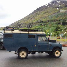 Land Rover Serie III 109 Original Dormobile convert. Lol)
