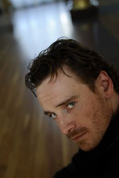 Michael Fassbender -There are no words to describe what this look is doing to me.