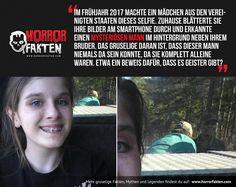 Das mysteriöse #Geisterselfie von Haly Ogletree Bisher gibt es noch immer keine rationale Erklärung dafür.  #Geisterfoto #Geister #horrorfakten