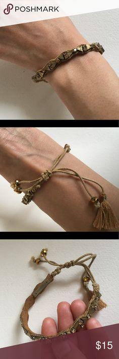 Deepa Gurnani bracelet Deepa Gurnani bracelet - never used  Adjustable strap deepa gurnani Jewelry Bracelets