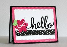 Stitched Rounded Rectangle Dies - Pink and Main LLC