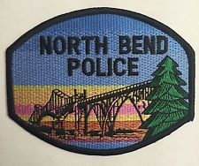 North Bend Oregon Police Patch