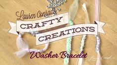 diy bracelet #crafts #CraftyCreations