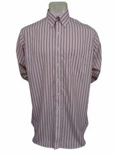 Pepsi embroidered logo employee uniform shirt shirt size for Joseph feiss non iron dress shirt