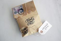 Μπομπονιέρα σε φάκελο-γράμμα Atelier Zolotas