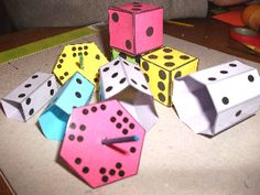 Making Dice in the classroom