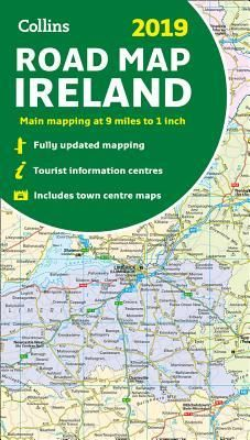 Detailed Map Of Ireland Pdf.Download Ebooks 2019 Collins Road Map Ireland By Collins Maps