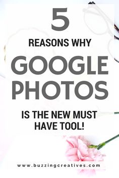 google photos is a must have tool not just for bloggers, small business owners, creative entrepreneurs, but it is a must have for your personal use!  we share with you 5 reasons why google photos is the new must have tool.  I mean, unlimited storage for free? how can you resist?