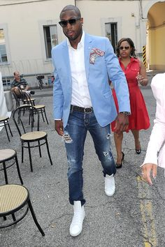 Mens Fashion Jeans  Blazer on Men   S Show In Milan    The Fashion Bomb Blog     All Urban Fashion|dwade