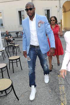 Mens Fashion Jeans  Blazer on Men   S Show In Milan    The Fashion Bomb Blog     All Urban Fashion|dwade
