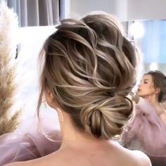 ❤️💍 - Cute nail and hair ideas - Cheveux Bridesmaid Hair, Prom Hair, Hair Wedding, Hair Upstyles, Bridal Hair Updo, Bride Hairstyles, Birthday Hairstyles, Bridesmaids Hairstyles, Party Hairstyles