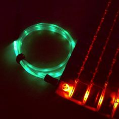 Luminous USB Cables