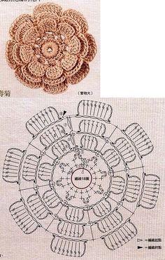 Watch The Video Splendid Crochet a Puff Flower Ideas. Phenomenal Crochet a Puff Flower Ideas. Crochet Diy, Beau Crochet, Crochet Puff Flower, Crochet Flower Tutorial, Crochet Leaves, Crochet Flower Patterns, Crochet Designs, Crochet Flowers, Flower Diy