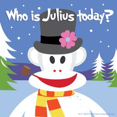 Who is Julius? #frosty #snowman