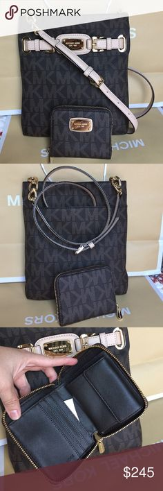 🌴Michael Kors Purse&Wallet🌴 100% Authentic Michael Kors Crossbody and Wallet, brand new with tag!😍😍😍 Michael Kors Bags Crossbody Bags