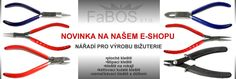 Štípací, kulaté, zamačkávací i ploché kleště pro výrobu bižuterie. Novinka na e-shopu www.efabos.cz #bizuterie #kleste #swarovski #koralky #sperky