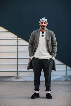 Street looks au Pitti Uomo automne hiver 2016 2017 a Florence