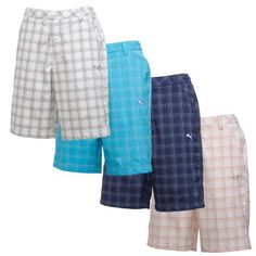 f8dafbb1791a These sweet Plaid Tech Shorts from Puma Golf look great and are made from  Recycled Polyester