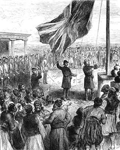 THE BRITISH took the Island at 17.00 on 12 July 1878 in front of a crowd of Cypriots gathered near the Paphos Gate in Nicosia to witness this strange event: 53 Royal Marine Artillery from HMS Minotaur presenting arms as a Captain Rawson lowered the Turkish Ottoman flag and raised in its place the Union flag, watched by Admiral Lord John Hay on behalf of Queen Victoria. The British had landed near Larnaca and marched to the capital without a single shot fired.