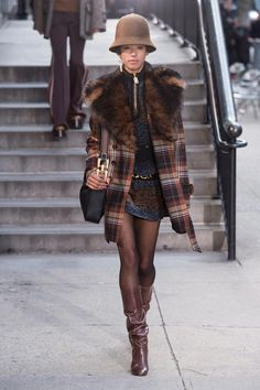 A look from the Marc Jacobs Fall 2017 collection. Photo: Imaxtree.