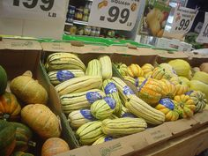 Local Ontario squash has arrived! Lots of varieties to choose from - find your favourites this week at our store!
