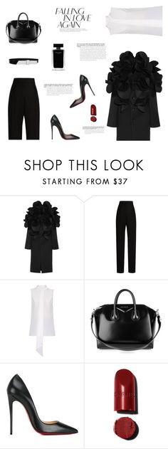 """""""MODERN CLASSICS"""" by canvas-moods ❤ liked on Polyvore featuring Junya Watanabe, Lanvin, Dion Lee, Givenchy, Christian Louboutin, Narciso Rodriguez and modern"""