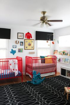 Sharing Is Caring in This Bold Nursery — My Room