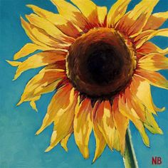 """Day in the Sun"" - Original Fine Art for Sale - © Nora Bergman"