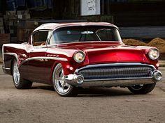 Profile on a 1957 Buick Roadmaster hot rod debuting at the 2015 SEMA trade show