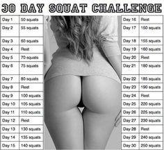 30 Day Squat Challenge!!
