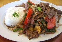 Lomo saltado :: La Cocina - Recepten Spaanse en Zuid-Amerikaanse keuken