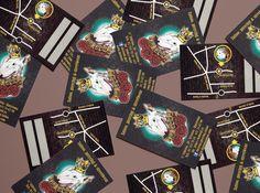 Diseño de las tarjetas de Tatoo
