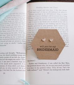 Cards for Bridesmaids