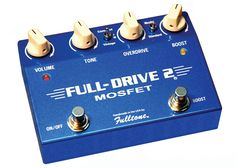 Fulltone Full-Drive2 Mosfet Overdrive Effects Pedal