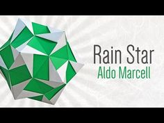 Difficulty: ★ ☆ ☆ ☆ ☆ (Simple) In this video, you will learn how to make an Origami Rain Star designed by Aldo Marcell. This is a simple origami kusudama, an...