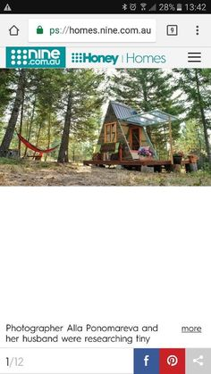 Tiny Houses, Cabin, House Styles, Home Decor, Small Homes, Decoration Home, Room Decor, Little Houses, Cabins