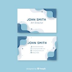 Abstract rounded shape business card template Free Vector Food Graphic Design, Creative Poster Design, Graphic Design Branding, Web Design, High Quality Business Cards, Professional Business Card Design, Business Design, Name Card Design, Banner Design