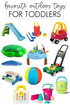 the best outdoor toys for your toddler