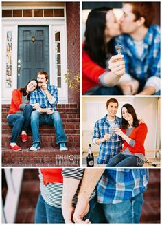 "Our ""New Home"" Photoshoot! Very happy that @Taylor Howard Photography helped us celebrate being First Time Home Buyers!"