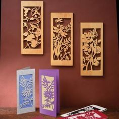 You can find more versitile floral fretwork patterns in the Scroll Saw Woodworking & Crafts Summer 2012 (Issue 47).